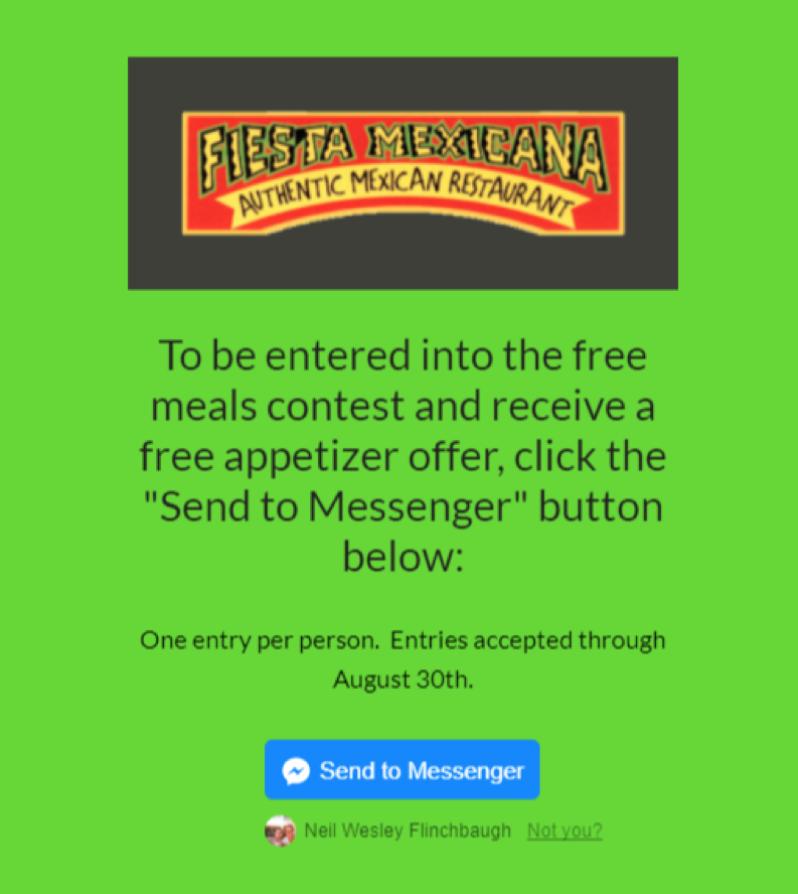 Fiesta Mexicana - Landing Page