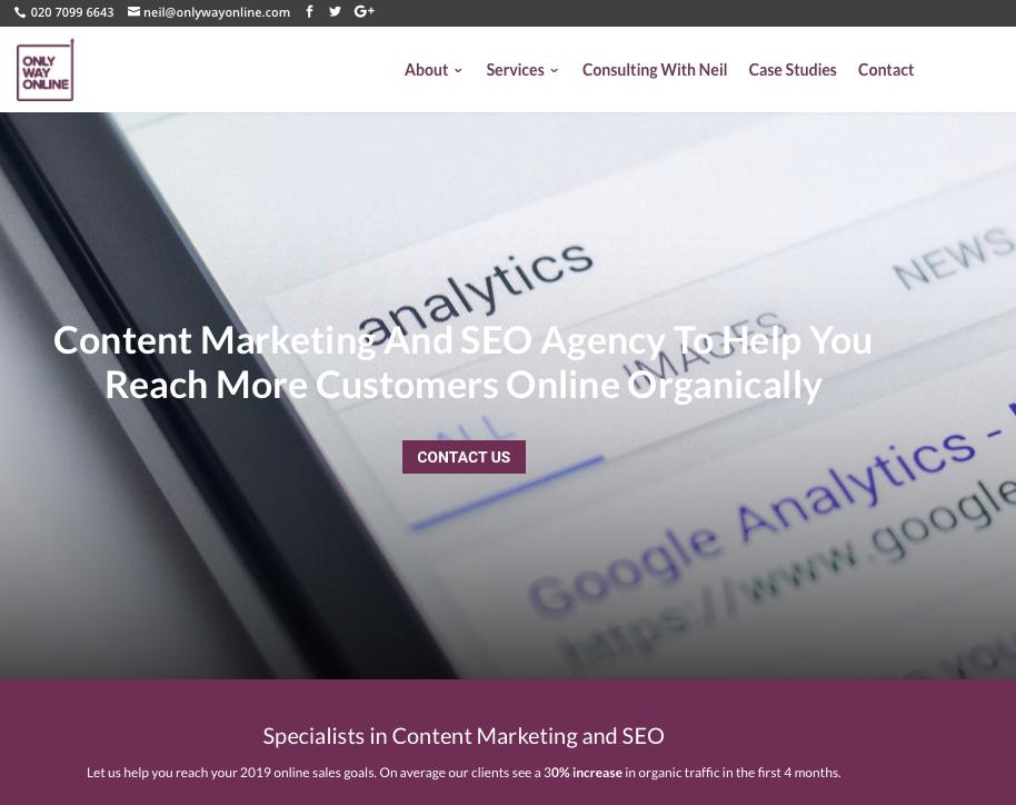 Only Way Online Website
