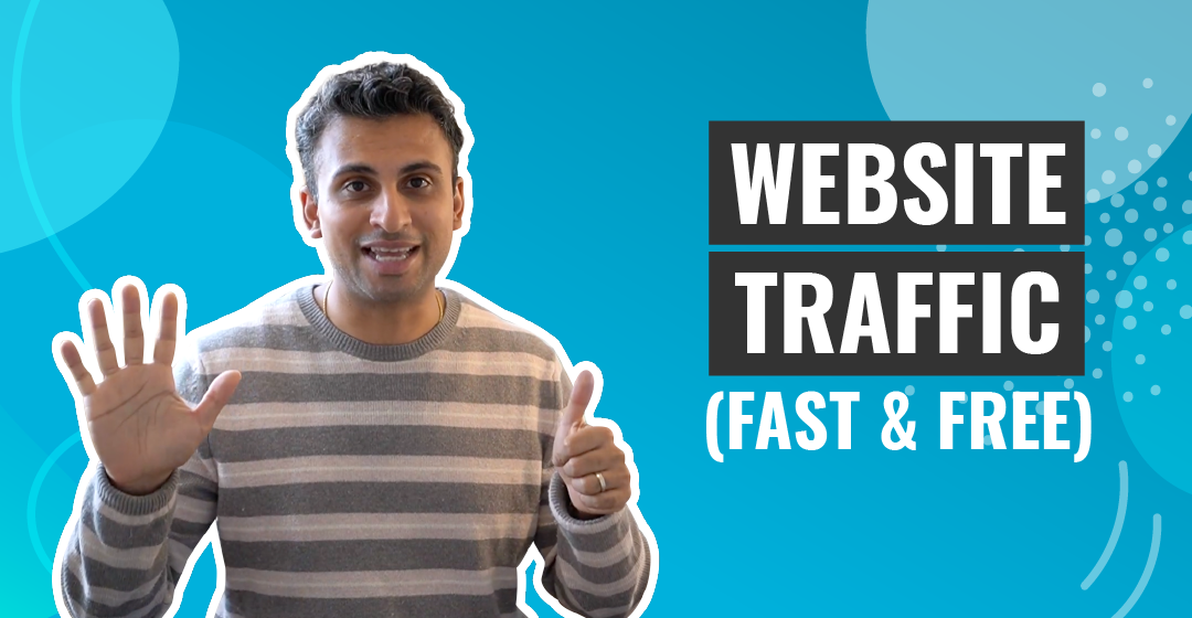 Get Traffic To Your Website (FAST and FREE)