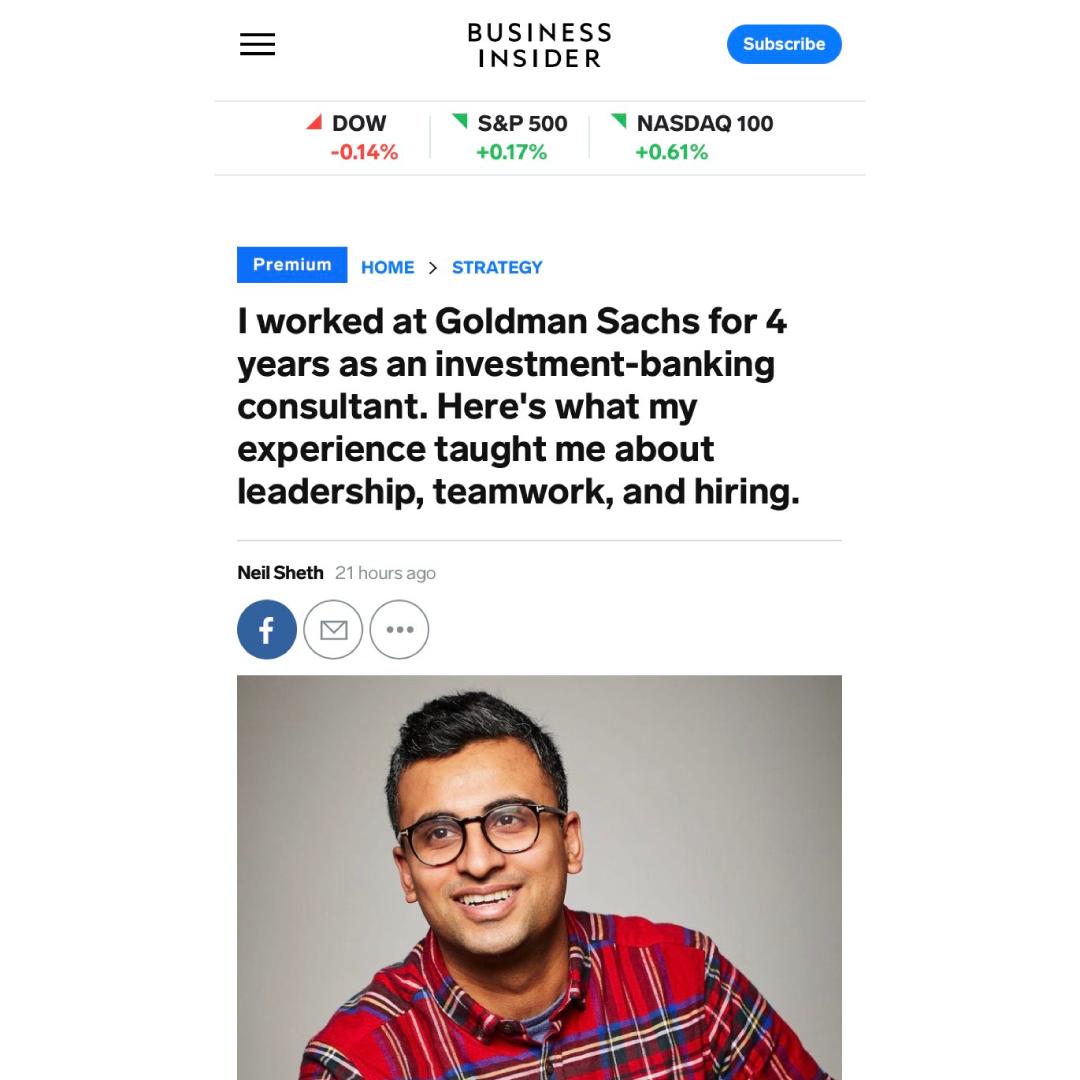 Business Insider Neil Sheth