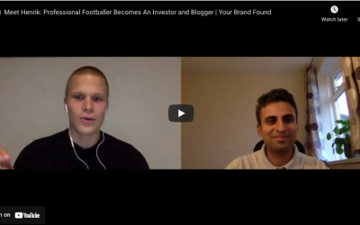 Meet Henrik: Professional Footballer Becomes An Investor and Blogger